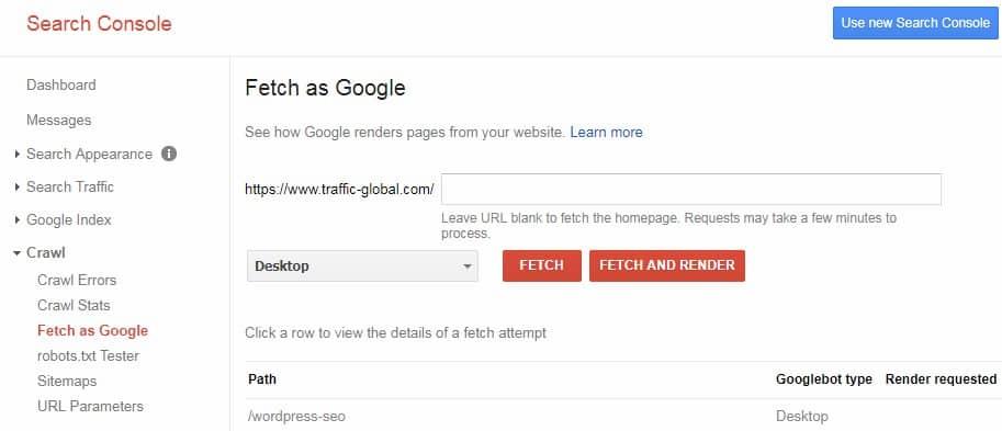 让谷歌抓取你的网页