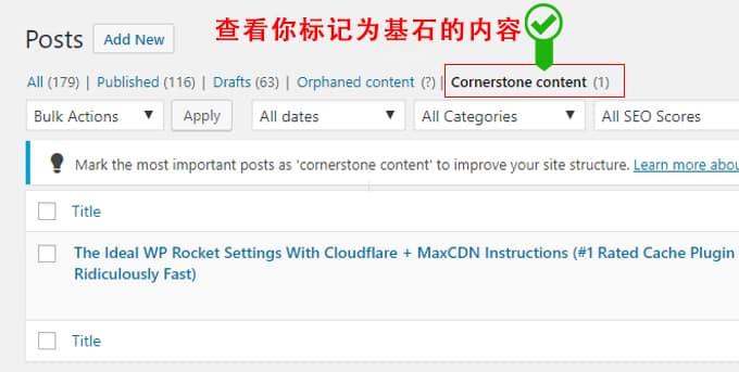 Cornerstone Content Filter